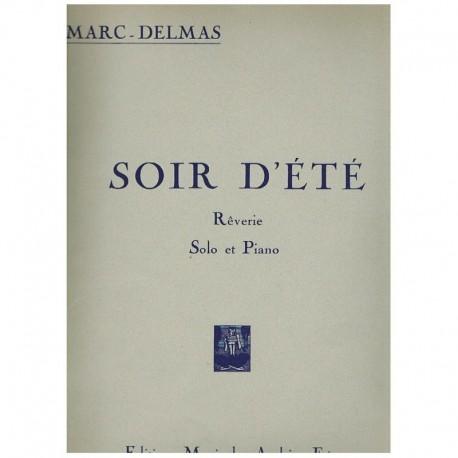 Delmas. Soir D'Ete (Saxofon Alto y Piano)