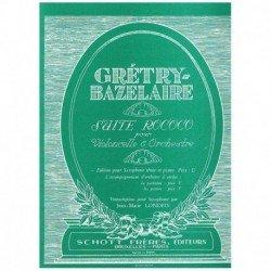 Gretry/Bazel. Suite Rococo...