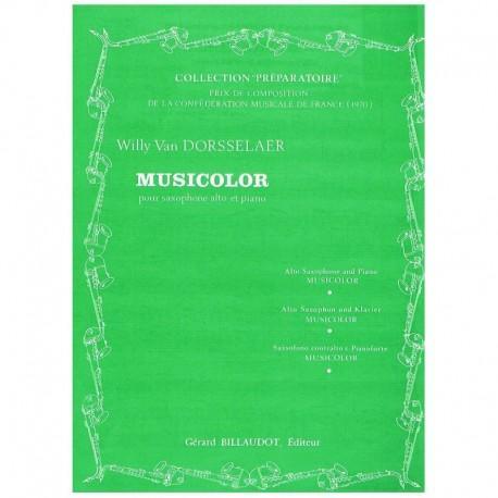 Dorsselaer, Musicolor (Saxofon Alto y Piano)
