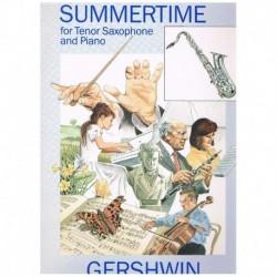 Gershwin, Ge Summertime (Saxofon Tenor y Piano)
