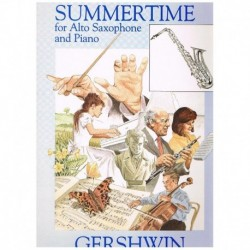 Gershwin, Ge Summertime (Saxofon Alto y Piano)