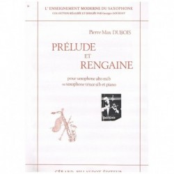 Dubois, Pier Prelude et Rengaine (Saxofon Alto/Tenor y Piano)