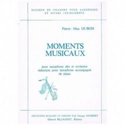 Dubois. Moments Musicaux (Saxofon Alto y Piano)