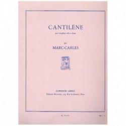 Carles. Cantilene (Saxofon Alto y Piano)