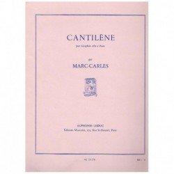 Carles. Cantilene (Saxofon...