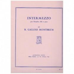 Gallois Mont Intermezzo (Saxofon Alto y Piano)