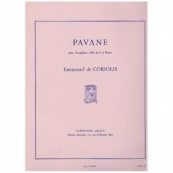Coriolis. Pavane (Saxofon Alto y Piano)