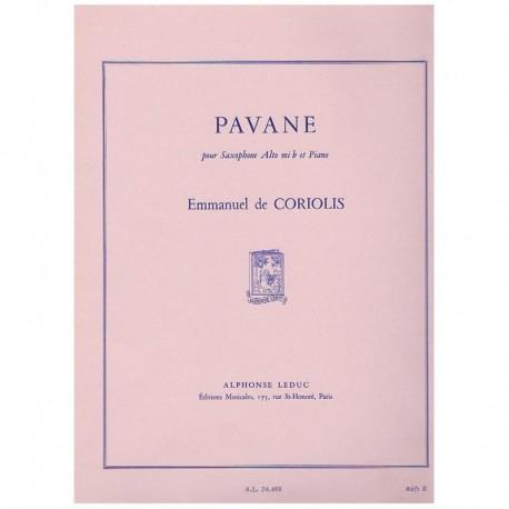Coriolis, Em Pavane (Saxofon Alto y Piano)