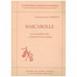 Coriolis, Em Barcarolle (Saxofon Alto/Tenor y Piano)