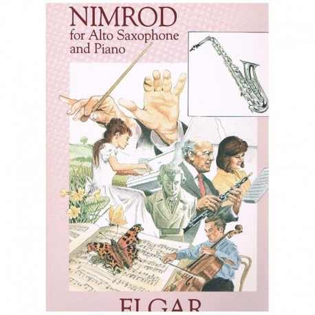 Elgar, Edwar Nimrod (Saxofon Alto y Piano)