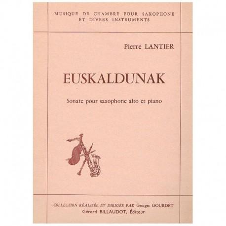 Lantier, Pie Euskaldunak (Saxofon Alto y Piano)