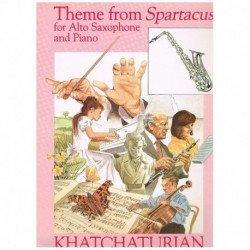 Kachaturian. Tema de Espartaco (Saxofon Alto y Piano)