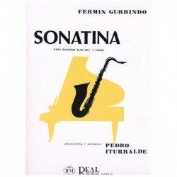Gurbindo. Sonatina (Saxofon Alto y Piano)