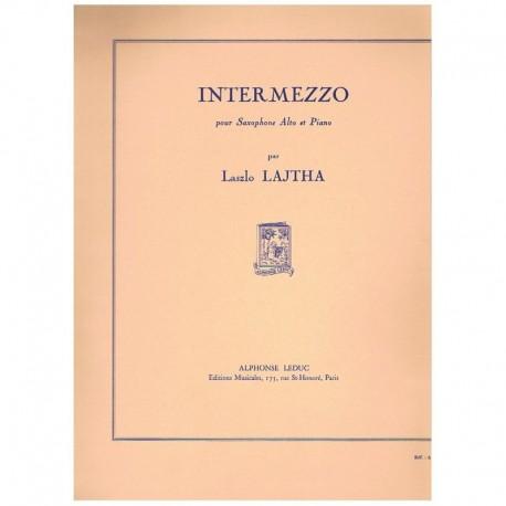 Lajtha. Intermezzo (Saxofon Alto y Piano)