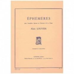 Louvier. Ephemeres (Saxofon...