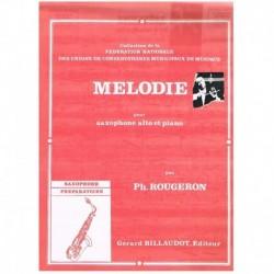 Rougeron. Melodie (Saxofon...