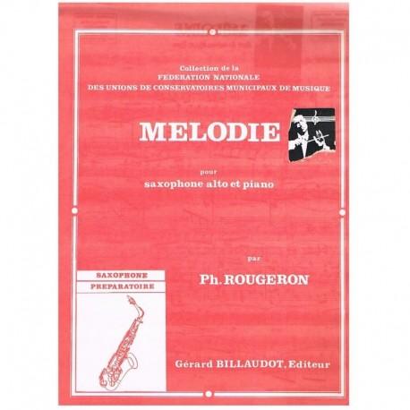 Rougeron. Melodie (Saxofon Alto y Piano)
