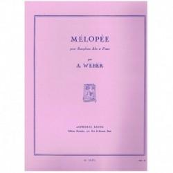Weber. Melopee (Saxofon...