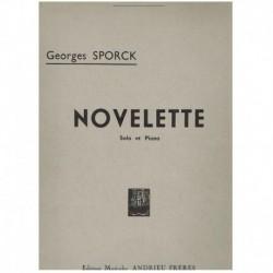Sporck. Novelette (Saxofon Alto y Piano)