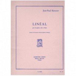 Rieunier. Lineal (Saxofon...