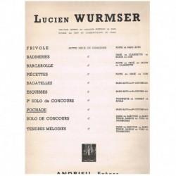 Wurmser. Pochade (Saxofon Alto y Piano)