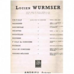 Wurmser. Frivole (Saxofon Alto y Piano)