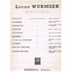 Wurmser. Esquisses (Saxofon Alto y Piano)