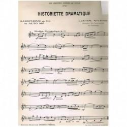Niverd. Historiette Dramatique (Saxofon Mib y Piano)