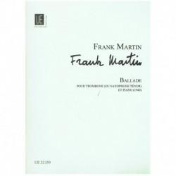 Martin. Balada (1940) (Saxofon Tenor y Piano)