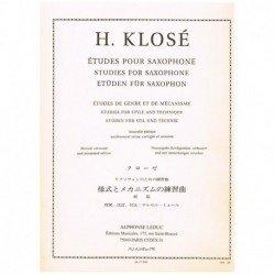 Klose. Estudios de Genero y...