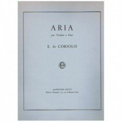 Coriolis. Aria para Trombon...