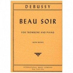 Debussy. Beau Soir (Trombon...