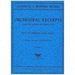 Varios. Orchestral Excerpts...