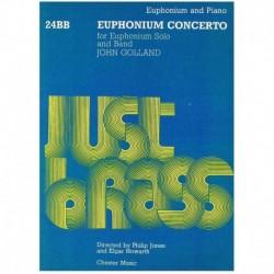 Golland, Joh Concierto Op.64 (Bombardino y Piano)