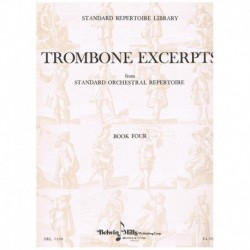Varios. Trombone Excerpts Vol.4