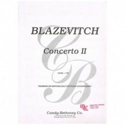 Blazevitch. Concierto II (Trombon y Piano)