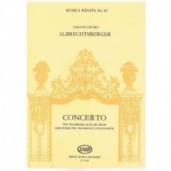 Albrechtsberger. Concierto para Trombon y Piano