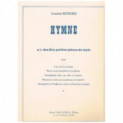 """Niverd. Himno (Nº1 de Seis Pequeñas Piezas de Estilo"""") (Trombon y Piano"""""""