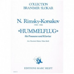 Rimsky-Korsa El Vuelo del Moscardon (Trombon y Piano)