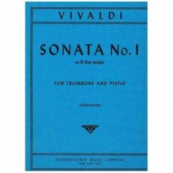 Vivaldi, Ant Sonata Nº1 Sib Mayor (Trombon y Piano)