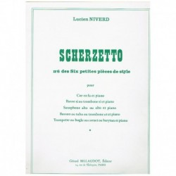 """Scherzetto (Nº6 de Seis Pequeñas Piezas de Estilo) (Trombon y P"""""""