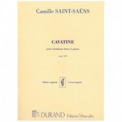 Saint-Saens. Cavatina Op.144 (Trombon y Piano)