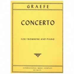 Graefe. Concierto (Trombon y Piano)