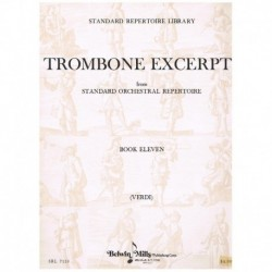 Verdi. Trombone Excerpts Vol.11