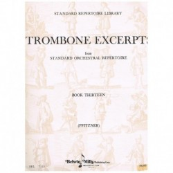 Pfitzner. Trombone Excerpts Vol.13