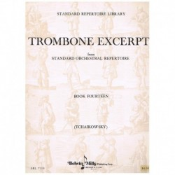 Tchaikovsky. Trombone Excerpts Vol.14