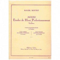 Boutry. 12 Estudios de...
