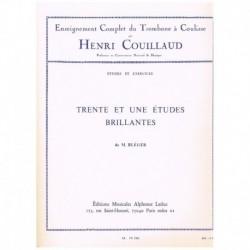 Bleger. 31 Estudios Brillantes (Trombon)