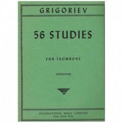 Grigoriev. 56 Estudios para...