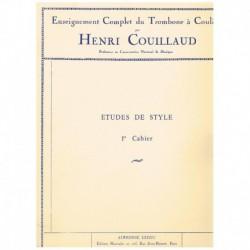 Couillaud, H Estudios de Estilo Vol.1 (Trombon)